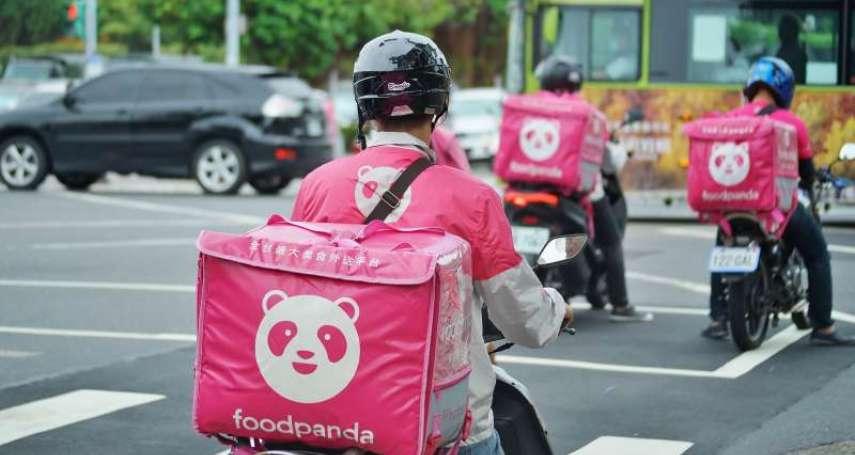 熊貓大砍薪水,每單外送費加給最低僅10塊!整排Foodpanda停滿車庫怒罷工:逼放防疫假