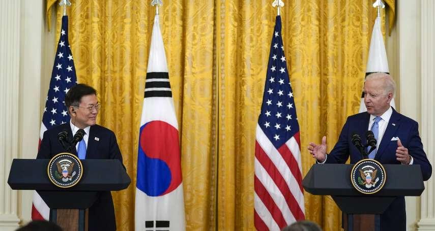 美韓峰會》拜登、文在寅敲定全方位疫苗合作計畫,美方將為55萬名韓軍接種新冠疫苗