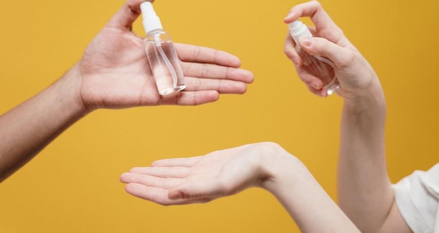 酒精怎麼使用最有效?毒物專家揭正確做法:這樣噴才能立即消毒!