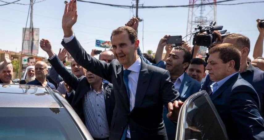 內戰十年還有9成5支持率?敘利亞總統阿塞德「毫無懸念」三度連任