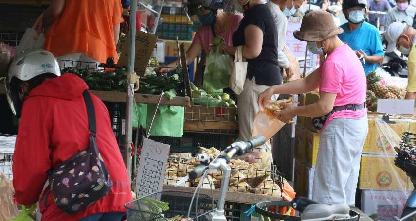 防疫破口》沒做好人流管制!侯友宜下令:板橋民享市場明天開始停業3天