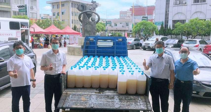 高市民政局超前部署 攜手台塑整備抗疫資源