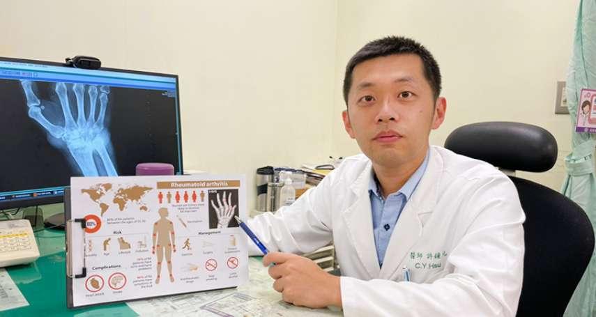 膝蓋莫名積水險癱  竟是類風濕性關節炎害的!