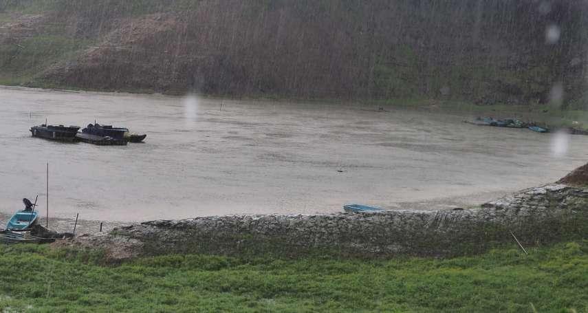 梅雨前險見底!石門水庫蓄水率從7%到近75% 有望超車翡翠水庫