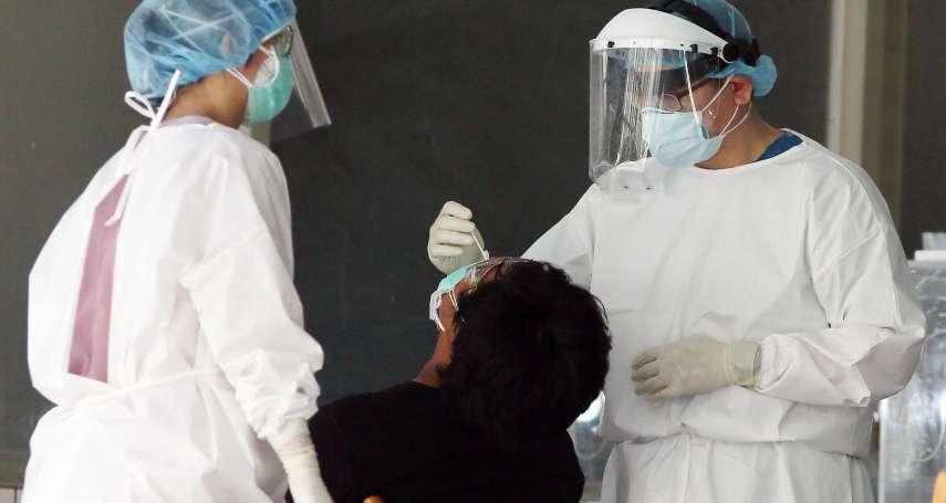 他無症狀確診,X光一照竟然已出現肺浸潤!醫師憂超強傳播力恐釀嚴重社區感染
