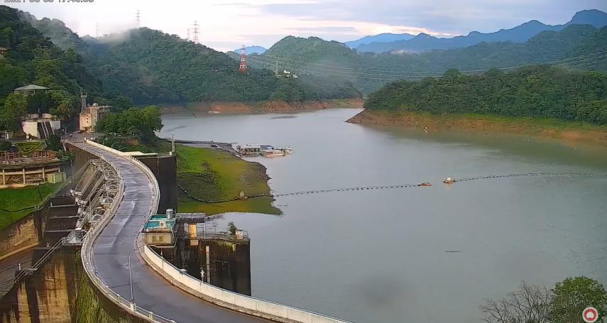 缺水警報解除,全台水庫一片藍「蓄水率衝破90%」!剩2地方水情緊繃處橘色警戒