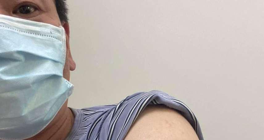 藍委林為洲露臂喊「手臂留給國產疫苗」 邀請民進黨立委響應