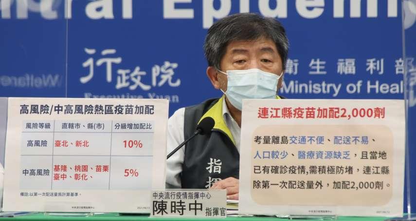 新冠肺炎》18日新增187例本土個案、21例死亡