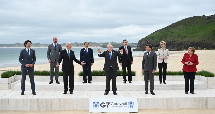G7提台海和平與馬政府兩岸政策一致?綠批藍停留在九二共識的和平幻影