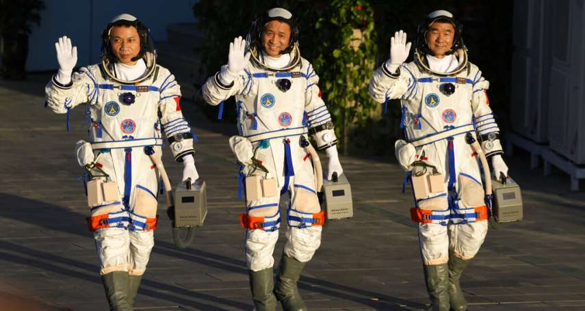 中美新冷戰・太空篇:神舟十二號今晨順利升空,習近平政府加緊興建「天宮號」太空站