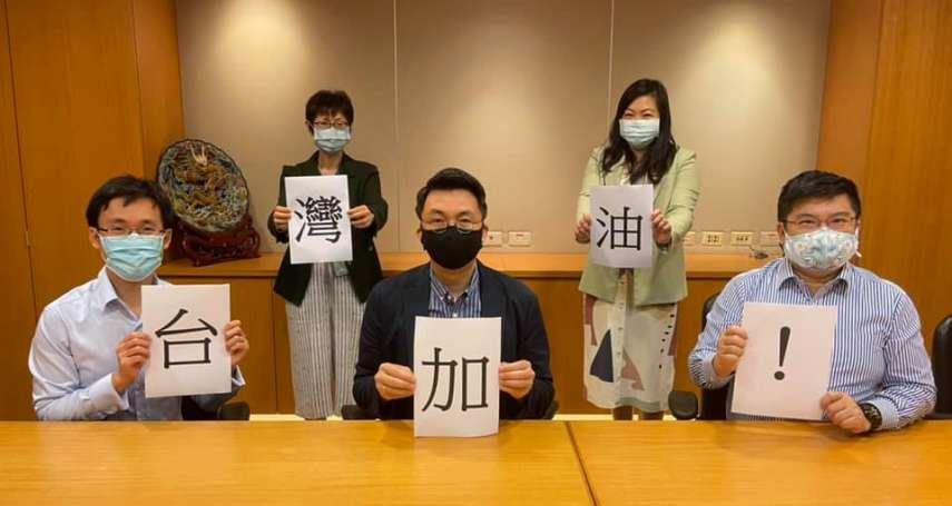 「展現台灣人特有韌性與毅力」 新加坡駐台辦事處感謝全台醫護抗疫貢獻