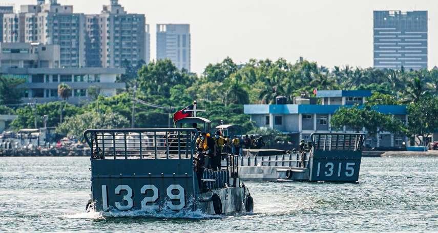 少了它陸戰隊連灘岸都踩不到!海軍搶灘關鍵小艇訓練曝光