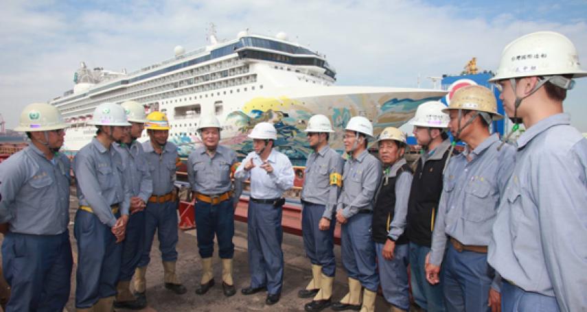 台船淬鍊重生 穩健航向未來