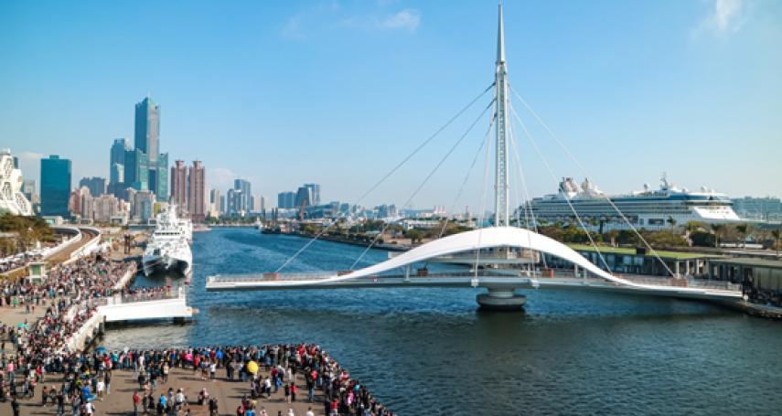 高雄港榮獲國際港埠協會「韌性基礎建設」分類首獎
