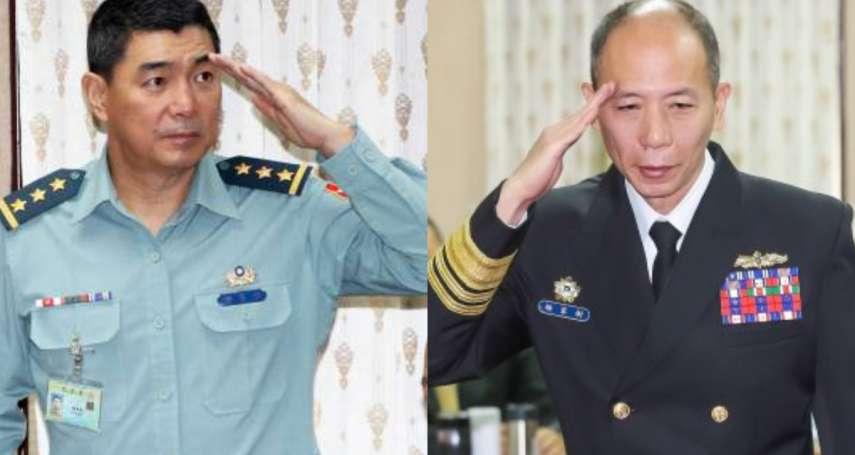 幕後》「海軍阿信」搭上上將列車 準總長陳寶餘因這原因力推運動員戰士