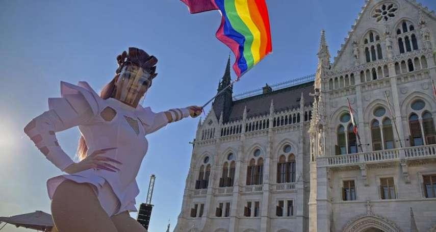 匈牙利同志驕傲遊行前夕 右翼總理宣布舉行反LGBT新法全民公投
