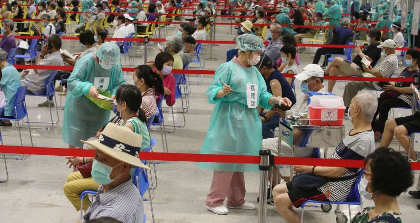 花博爭豔館2小時打3000人!蔡炳坤:北市疫苗覆蓋率達22%全台最高