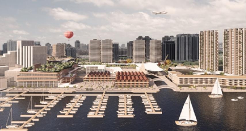 港務招商有成 安平港水岸將打造全臺最大濱海度假城
