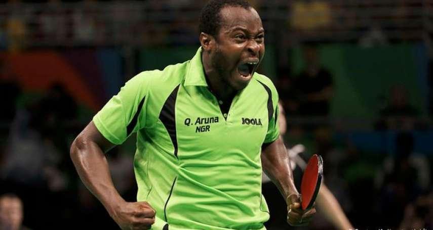 東京奧運》非洲人能在桌球項目擊敗中國人嗎?上屆打進四強,本屆誓言奪牌的奈及利亞選手阿魯納