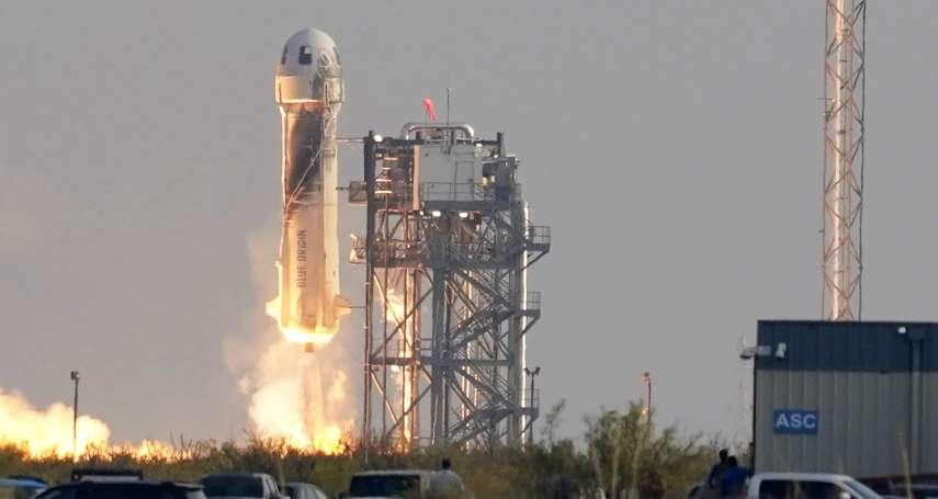 全球首富飛上太空》貝佐斯:此生最美好的一天,遠超過我的期望!