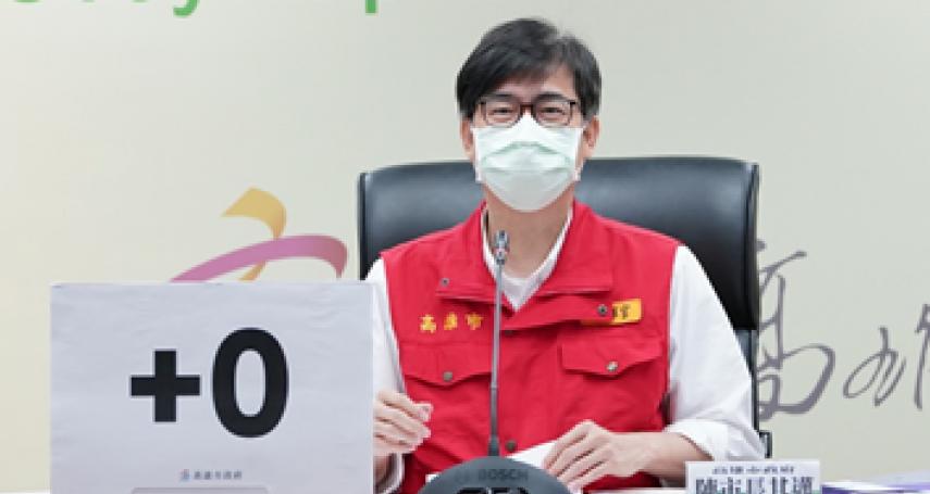 陳其邁防疫表現 國策研究院民調:9成高雄市民滿意防疫表現