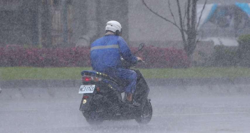 中颱烟花擦邊台灣海警將解除 專家示警:西南氣流恐降雨致災到8月