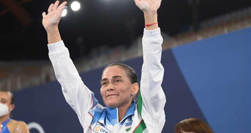 有影》烏茲別克體操女將8度參賽,就為拚獎金替兒治病!無緣晉級決賽抱憾告別東京奧運