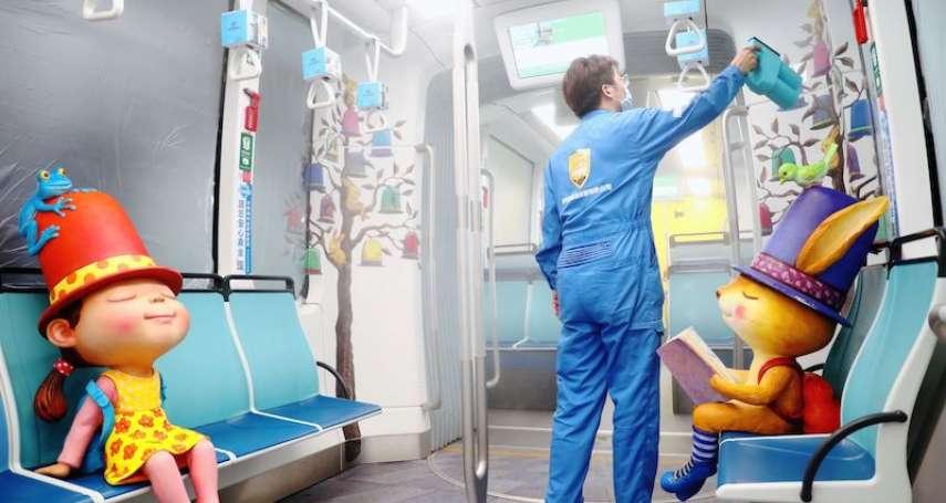 淡海輕軌升級國家級「全場域抗病毒軌道系統」 為乘客安全把關