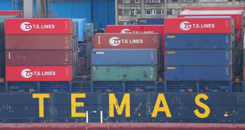 航運股咕嚕咕嚕,因為中國港口不塞了?分析師:基本運費依然強勢,跌的是附加費