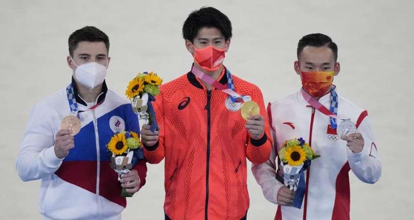 直擊東奧體操決賽橋本對戰肖若騰 謝長廷:觀賽60年此次最精采
