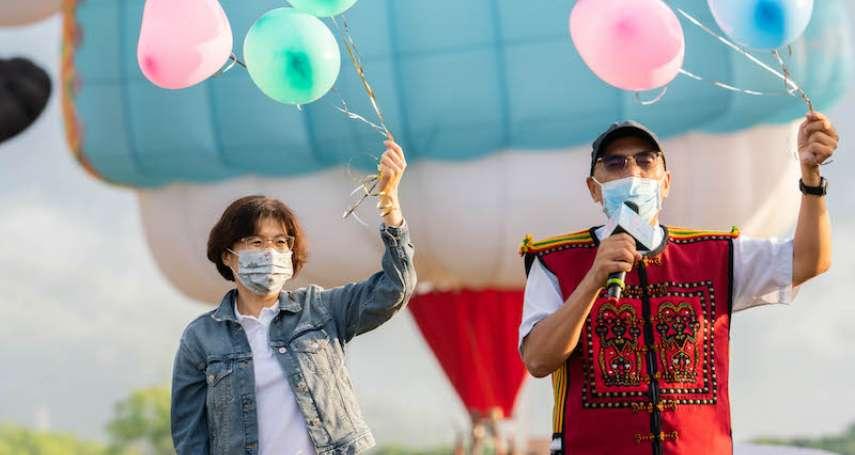 熱氣球首航為臺灣而飛 期盼帶來正面能量