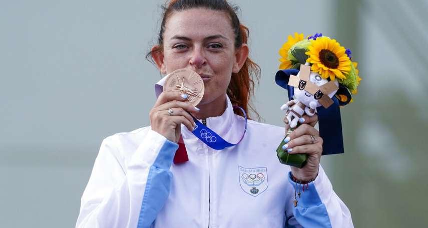等了61年!射擊女將奪銅,史上最小奪牌國家聖馬利諾獲首面奧運獎牌!