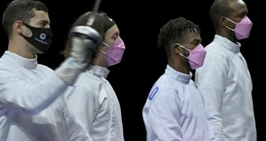 東奧#MeToo:他涉嫌性侵女運動員,仍入選美國隊!隊友集體戴「粉紅口罩」抗議