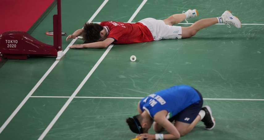 羽球場上是對手,比賽結束就是朋友!網友翻出戴資穎大合照奧運8強,大讚這才是運動家精神