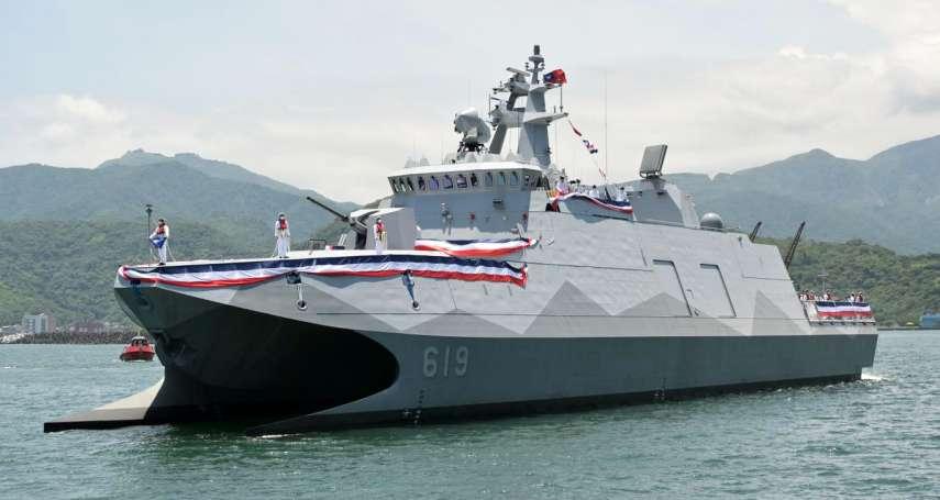 反擊中共唱衰「航艦殺手」 海軍司令期勉塔江艦達成制海作戰任務