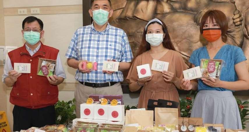甜入心!新北民代媒和年輕甜點師楊詠帆挺警消