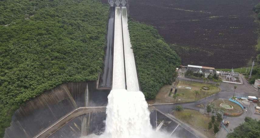 西南氣流雨勢驚人!曾文水庫6天狂洩3座南化水庫蓄水量