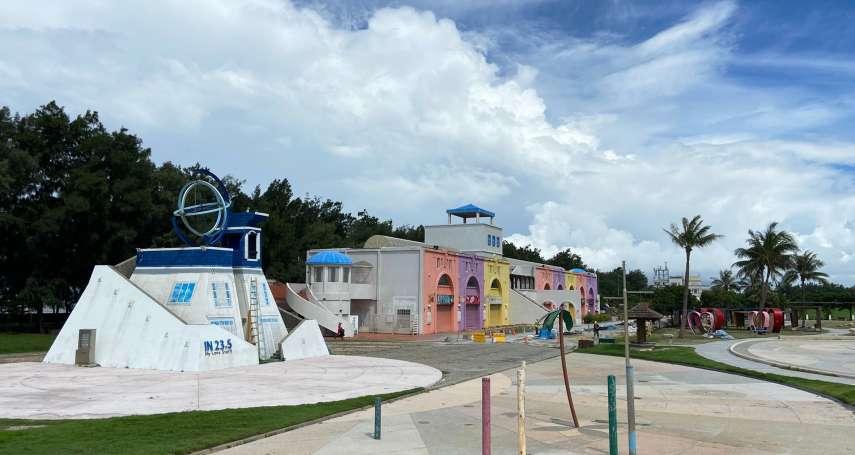 東石漁人碼頭設施修繕   翁章梁打造孩童遊玩天堂