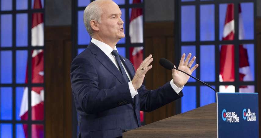 加拿大提前選舉》杜魯道被批對中國軟弱 保守黨表明挺台灣、改駐台機構名稱