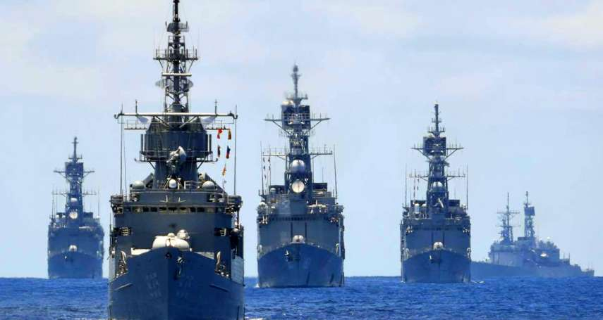 史詩級暖身!漢光演習在即 海軍「萬噸巨獸」基隆級艦4艘同框操演