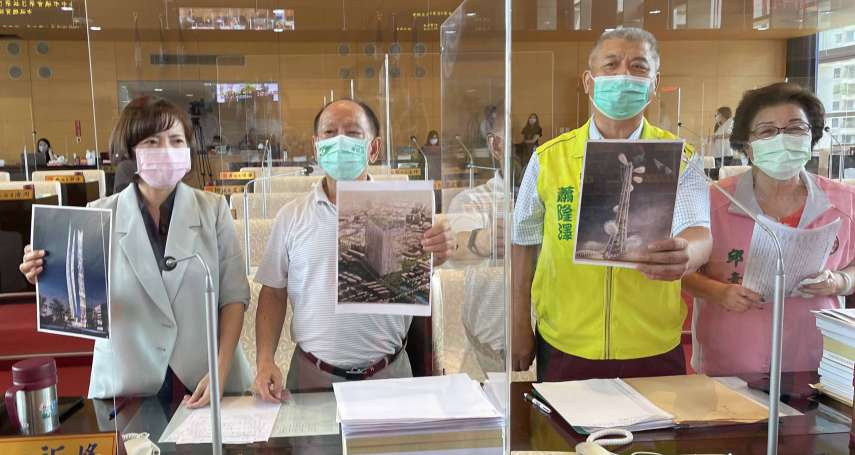 議員關切台灣塔營運進度 質疑定位不明確工程遙遙無期
