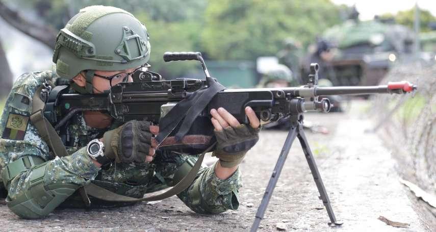 漢光演習》首都門神發威 淡水河防重火力夾擊敵方特戰部隊