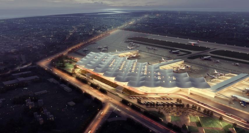 行政院將投入747億 打造高雄國際機場新航廈