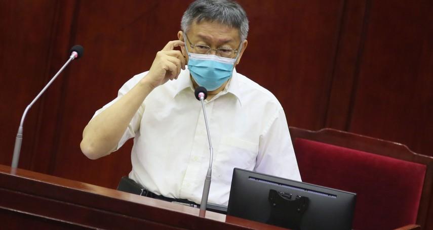 蘇貞昌稱台灣又幸福又危險 柯文哲酸:神也你鬼也你,話都你在講