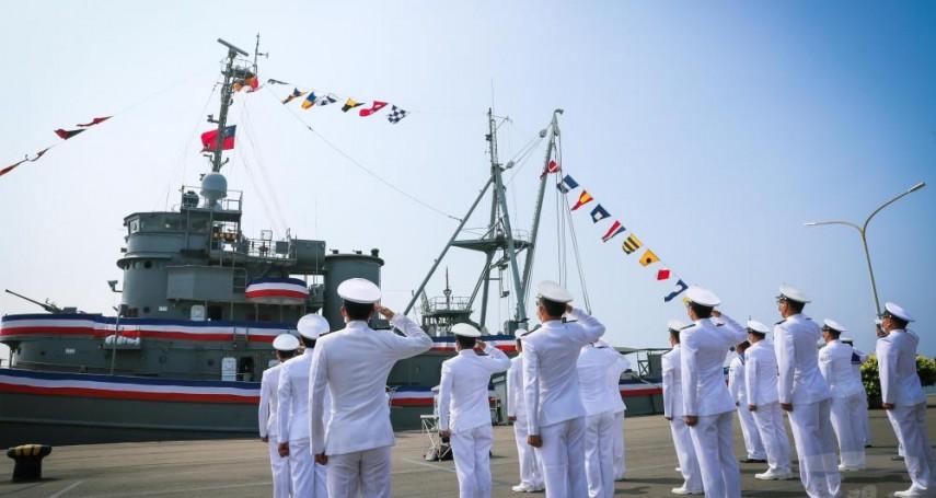 近80歲遠洋拖船「大峰軍艦」除役 國艦國造牽動海軍汰舊換新進度