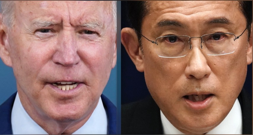 新日相岸田與拜登通話,確認「尖閣諸島適用美日安保條約」,北京呼籲「不應損害第三國利益」