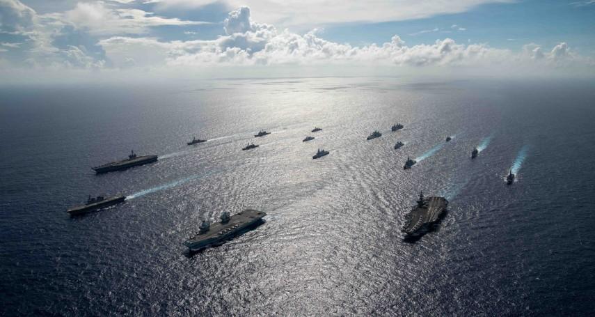 美國高調宣傳6國聯合演訓 專家揪疑點:該守備的南海各國都未受邀