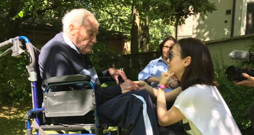 無慢性病、還在大學教書的104歲人瑞阿公,為何赴瑞士安樂死?曾寶儀親訪後,悟出生命意義