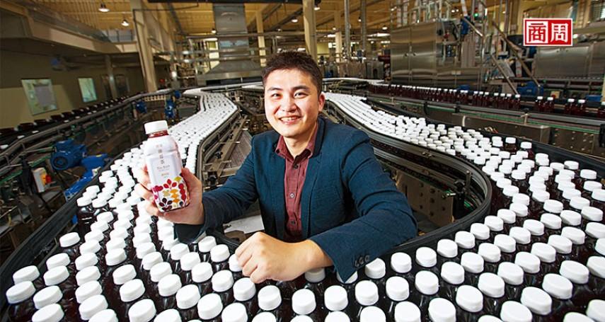 志同衝外銷、賣飲料,4年走出寶特瓶「過時」困境 他改造阿爸傳下的瓶子 在瀕危市場營收逆增一成