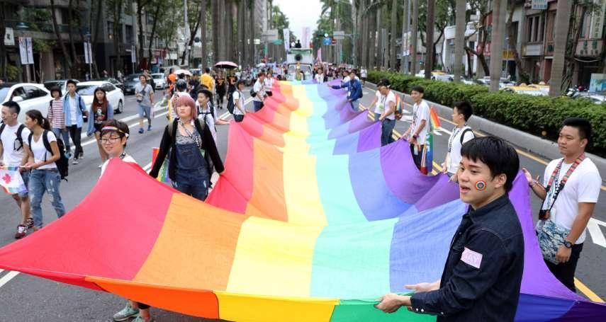 2017年LGBT Pride遊行登場!台灣同志遊行聯盟:青少年才是性平教育主體
